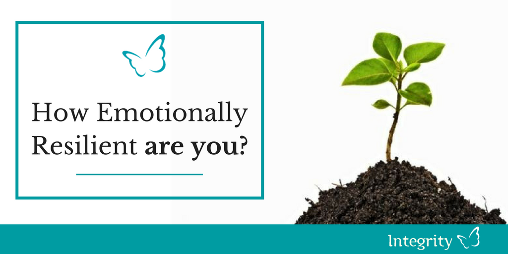 How Emotionally Resilient are You?