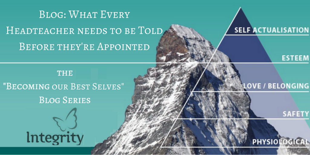 What Every Headteacher should be told before they're appointed!