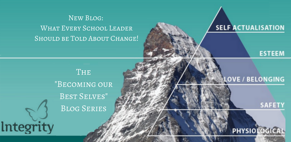 What Every School Leader Should be Told About Change!