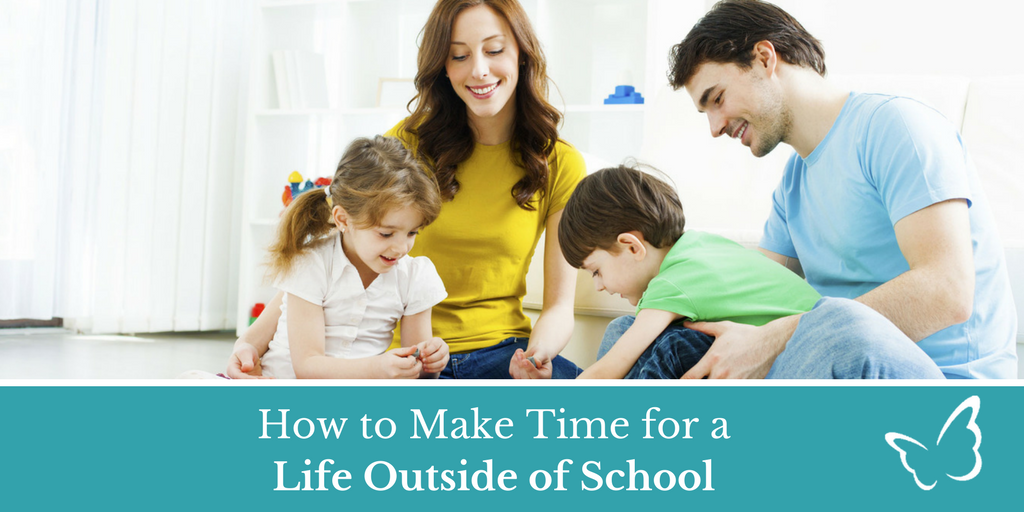 How to Make Time for a Life Outside of School