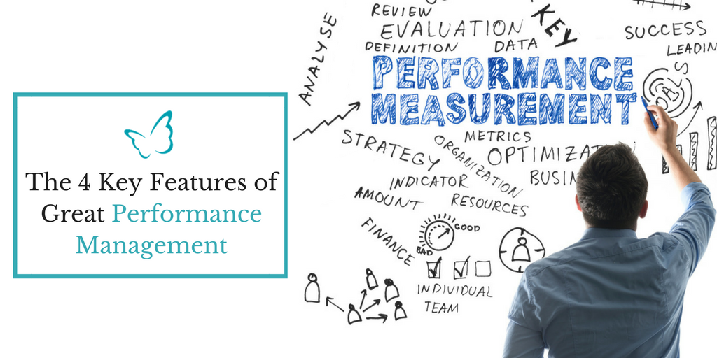 The 4 Features of Great Performance Management