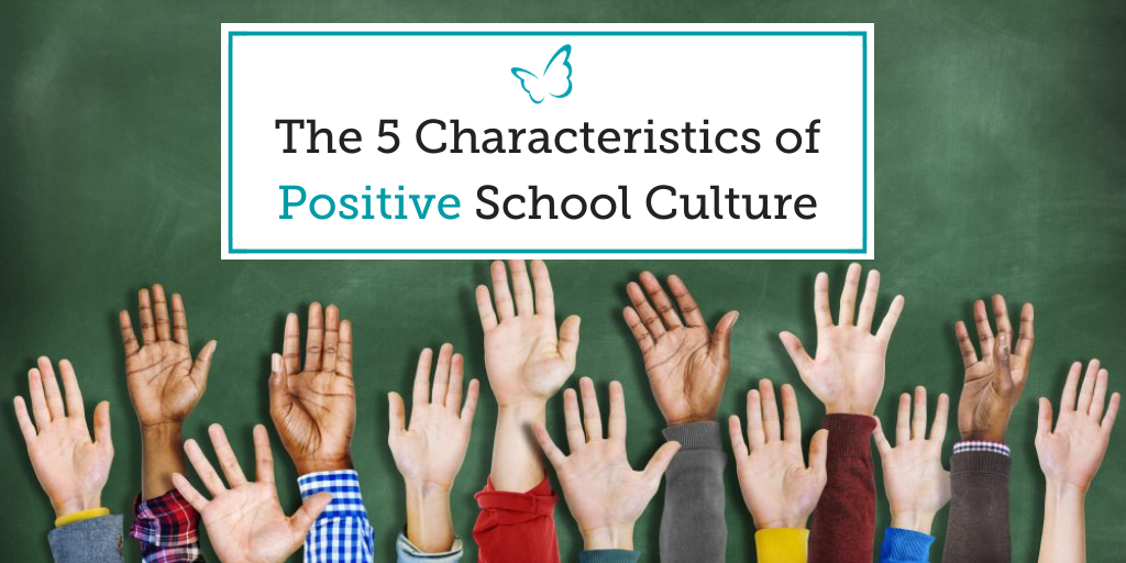 The 5 Characteristics of Positive School Culture
