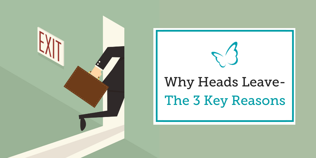 Why Heads Leave – The 3 Key Reasons