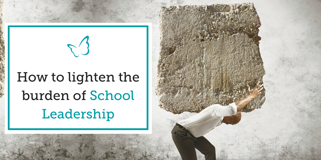 How to Lighten the Burden of School Leadership